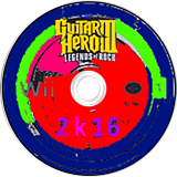Guitar Hero 2K16 (Custom) CUSTOM disc (CGHE52)