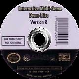 Interactive Multi-Game Demo Disc - Version 8 GameCube disc (D92E01)