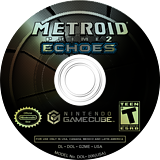 Metroid Prime 2: Echoes GameCube disc (G2ME01)
