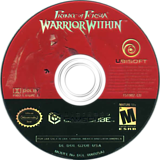 Prince of Persia: Warrior Within GameCube disc (G2OE41)