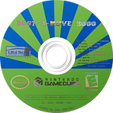 Bust-A-Move 3000 GameCube disc (G3SE41)