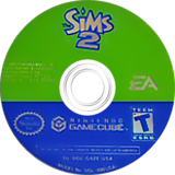 The Sims 2 GameCube disc (G4ZE69)