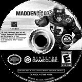 Madden NFL 07 GameCube disc (G7ME69)