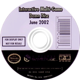 Interactive Multi-Game Demo Disc - June 2002 GameCube disc (G96E01)