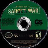 Army Men Sarges War GameCube disc (GAME5H)