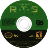 Army Men: RTS GameCube disc (GARE5H)