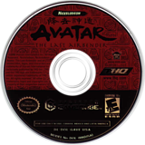 Avatar The Last Airbender GameCube disc (GAVE78)