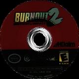 Burnout 2: Point of Impact GameCube disc (GB4E51)