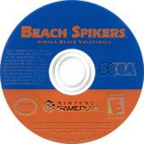Beach Spikers: Virtua Beach Volleyball GameCube disc (GBSE8P)