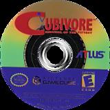 Cubivore: Survival of the Fittest GameCube disc (GCVEEB)