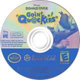 Disney's Donald Duck: Goin' Quackers GameCube disc (GDDE41)