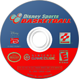 Disney Sports: Basketball GameCube disc (GDLEA4)