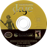 Darkened Skye GameCube disc (GDQE7L)