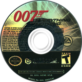 007: Everything or Nothing GameCube disc (GENE69)