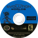 Evolution Worlds GameCube disc (GEWE41)