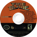 FireBlade GameCube disc (GFBE5D)