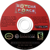 Gotcha Force GameCube disc (GG4E08)