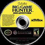 Cabela's Big Game Hunter 2005 GameCube disc (GG5E52)