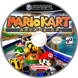 Mario Kart Arcade GP CUSTOM disc (GGPE01)