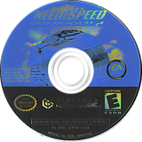 Need for Speed: Hot Pursuit 2 GameCube disc (GH2E69)