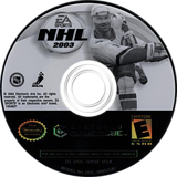 NHL 2003 GameCube disc (GH3E69)