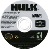 Hulk GameCube disc (GHKE7D)