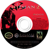 Hitman 2: Silent Assassin GameCube disc (GHME4F)