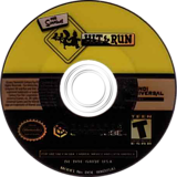 The Simpsons: Hit & Run GameCube disc (GHQE7D)