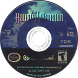 The Haunted Mansion GameCube disc (GHYE6S)