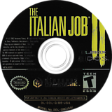 The Italian Job GameCube disc (GIBE4F)