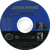 Star Wars Jedi Knight II: Jedi Outcast GameCube disc (GJKE52)