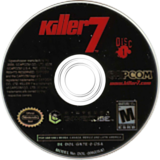 Killer7 GameCube disc (GK7E08)