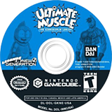 Ultimate Muscle: Legends vs. New Generation GameCube disc (GKNEB2)