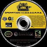 Codename Kids Next Door - Operation V.I.D.E.O.G.A.M.E GameCube disc (GKZE9G)