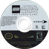 LEGO Star Wars: The Video Game GameCube disc (GL5E4F)
