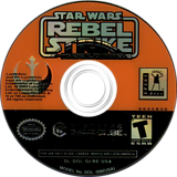 Star Wars Rogue Squadron III: Rebel Strike GameCube disc (GLRE64)