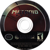 Metroid Prime GameCube disc (GM8E01)