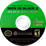 Men In Black II:  Alien Escape GameCube disc (GMEE70)