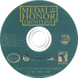 Medal of Honor: Frontline GameCube disc (GMFE69)