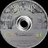 Minority Report: Everybody Runs GameCube disc (GMWE52)