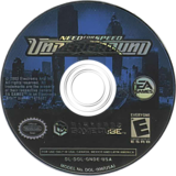 Need for Speed: Underground GameCube disc (GNDE69)