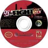 Def Jam: Fight For NY GameCube disc (GNWE69)