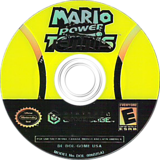 Mario Power Tennis GameCube disc (GOME01)
