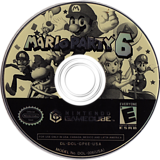 Mario Party 6 GameCube disc (GP6E01)