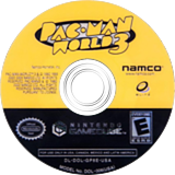 Pac-Man World 3 GameCube disc (GP8EAF)