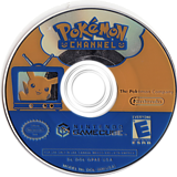 Pokémon Channel GameCube disc (GPAE01)