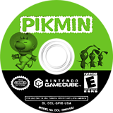 Pikmin GameCube disc (GPIE01)