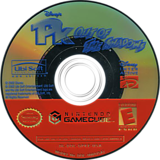 Disney's PK Out of the Shadows GameCube disc (GPKE41)