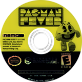 Pac Man Fever GameCube disc (GPMEAF)