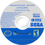 Phantasy Star Online Episode I & II GameCube disc (GPOE8P)